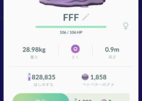 【ポケモンの名前】よく見る「FFF」とか「FDF」ってどういう意味?