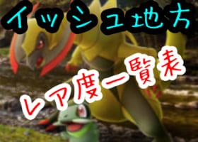 【第5世代】新ポケモンレア度一覧表!超激レアのキバゴはもう捕まえた?